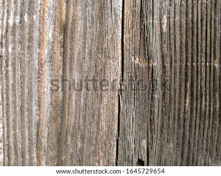 Natural brown wooden background. Brown wood plank wall