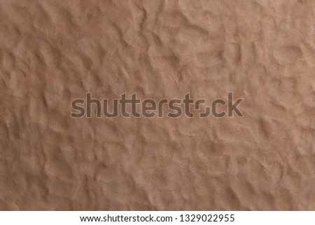 Natural clay texture background. Wet clay material for craft.