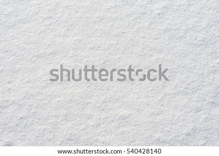 natural color of winter wonderland white snow surface christmas new year theme pattern texture background top down details photo