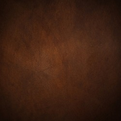 natural dark brown leather texture