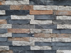 Natural earthy abstract stone wall texture surface