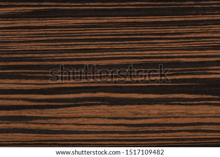 Natural ebony veneer background in elegant brown colors. High quality texture in extremely high resolution.