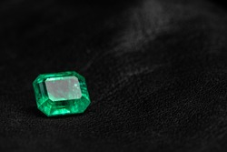 Natural Emerald Gemstone Precious Loose Stone