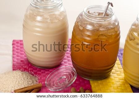 Shutterstock Natural Flavored beverages.