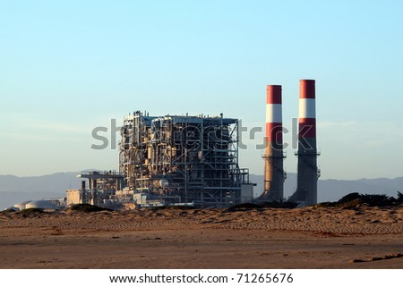 natural gas power statio near oxnard california