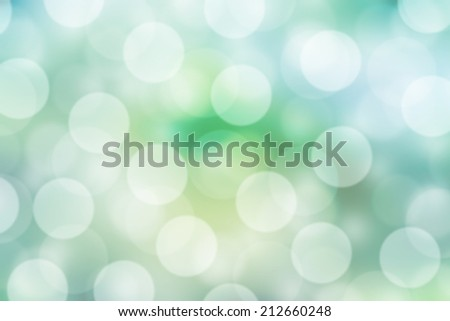 Natural green blurred background. Defocused green abstract background.