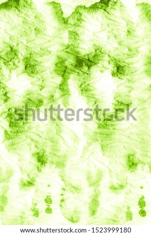 Natural Green Ink Chinese Art. Deep Nature Greenery. Grassy Color Oil Painting. Lime Green Healthy Bio Food Idea. Organic Color Healthy Living Idea. Fresh Spring Grass Color.