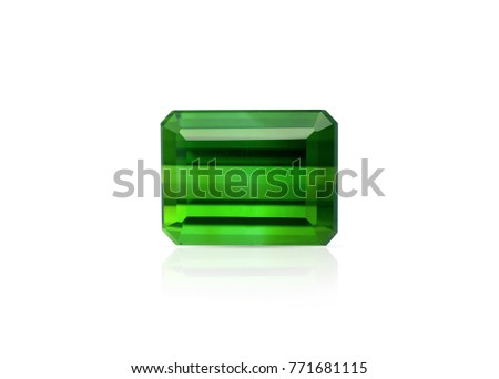 Natural Green Tourmaline gemstone