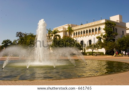 Natural History Museum Balboa Park San Diego California USA (exclusive at shutterstock)