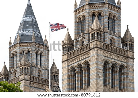 Natural History Museum in Kensington. London, United Kingdom. - stock photo