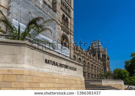 Natural History Museum in London, UK #1386381437