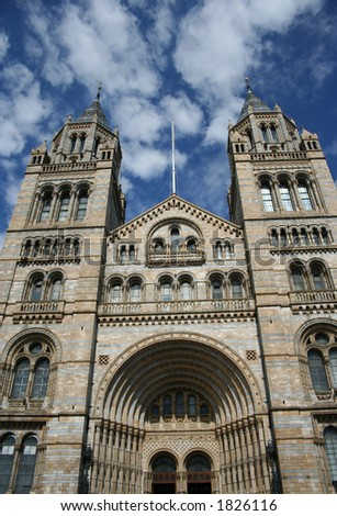 Natural History Museum, South Kensington London