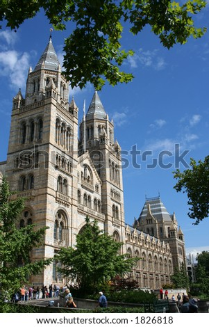 Natural History Museum, South Kensington London - stock photo