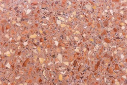 Natural italian marble terrazzo texture. Terrazzo marble background with luxury pattern texture and high resolution for design art work. Natural terrazzo marble surface stone. Terrazzo slab texture