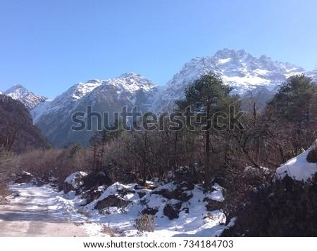 Natural landscape #734184703