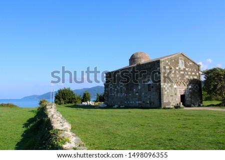 Natural landscape in Ordu city, Black sea coast, Yason Burnu Stok fotoğraf ©