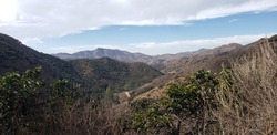 Natural landscapes of Wildwood Regional Park in Thousand Oaks California