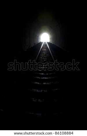 Natural light at the end of the tunnel.