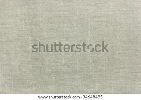 Natural Light Khaki Cotton Texture Closeup Horizontal, vintage linen textured canvas fabric burlap rustic background in tan, beige, yellowish, grey, copy space pattern - stock photo