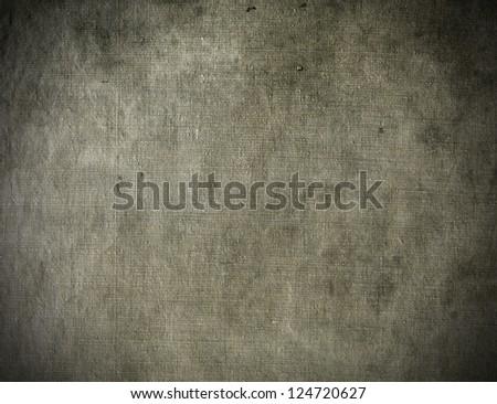 Natural linen stained grunge textured canvas burlap vintage background