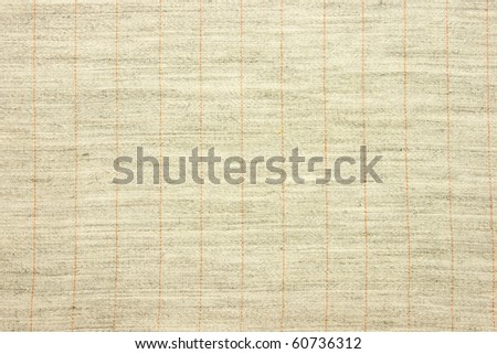 Natural linen striped textured fabric textile