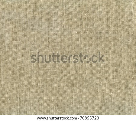 Natural linen striped uncolored textured sacking canvas background