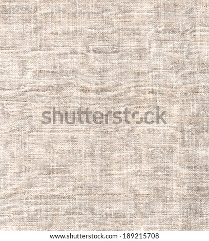Natural linen uncolored canvas background