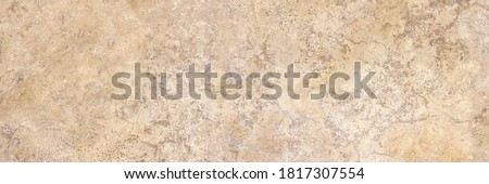Natural marble texture in high resolution soft tones. Italian travertine marble texture background. Foto stock ©