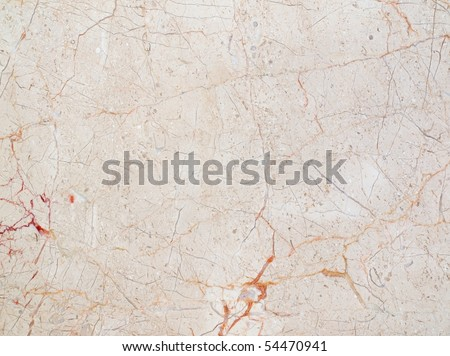 Natural marble tile with red veins