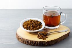 Natural, organic Chaga mushroom and chaga mushroom tea.