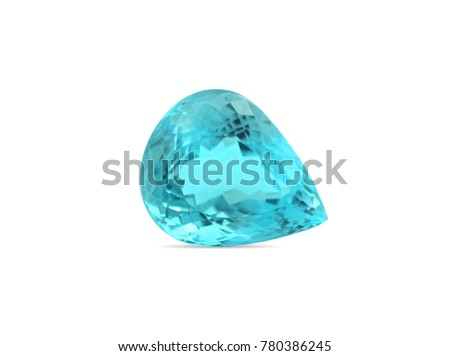 Natural Paraiba Tourmaline gemstone
