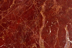 natural pattern of marble red brown color polished slice mineral. Super high resolution