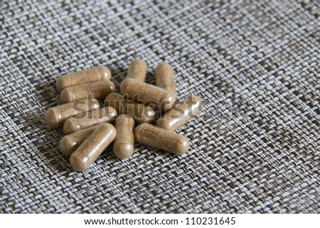 Natural plant extract pills - Nutritional Supplement Pills