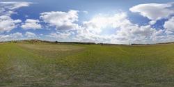 Natural Polish landscapes - 360 HDRI panoramic sphere