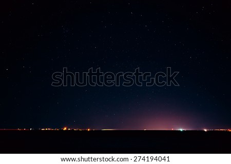 Night Sky Stars Texture Natural Real Night Sky Stars
