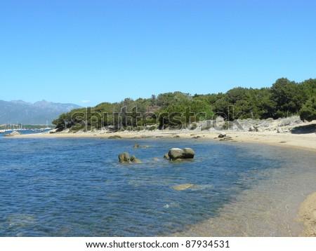 Natural reserve A Testa, Figari, Corsica