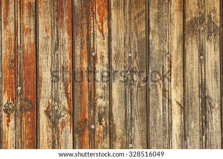 horizontal wood plank walls