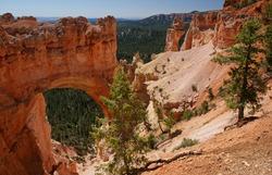 Natural Sandstone Bridge � Bryce Canyon National Park