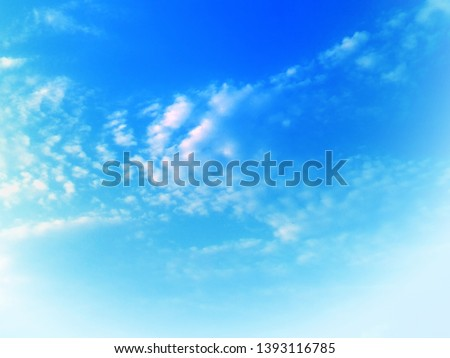 Natural sky background texture, beautiful color #1393116785