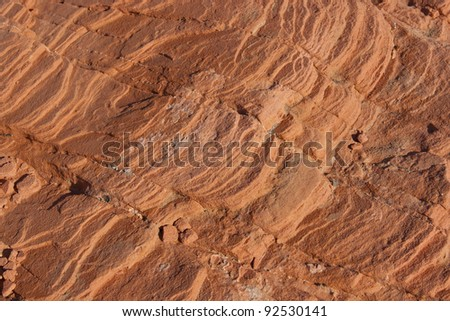 Natural stone background in Valley of Fire, Nevada, USA