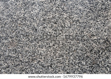 Natural stone. Grey, black and white granite texture, granite surface and background. Material for decoration texture, interior design Stockfoto ©