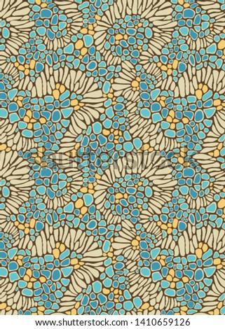 Natural stone insprational wallpaper.Textile pattern .Textile design