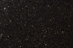 Natural stone Star Galaxy Black Extra, black granite, shiny particles.