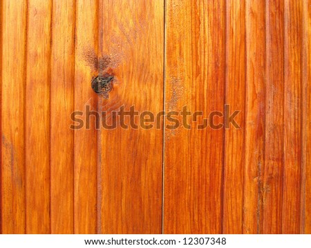 Natural texture of real wood board varnished