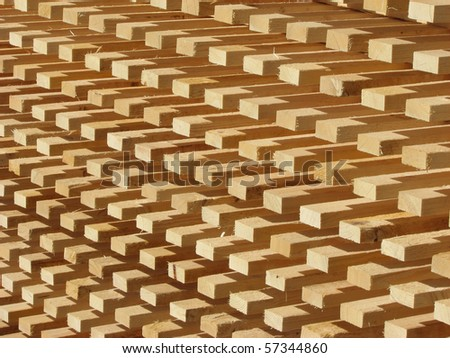 Natural timber and lumber industry background