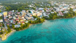 Natural view of Guadeloupe, Gosier.
