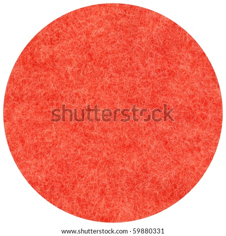 Natural woollen fabric: a red mohair, round, macro
