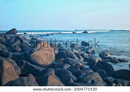 Naturaleza agua mar verde playa  Foto stock ©