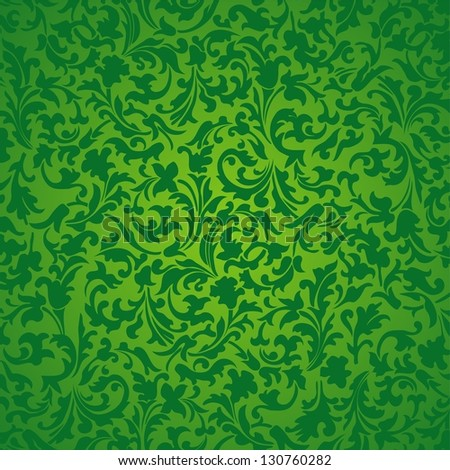 Nature abstract green background. Illustration