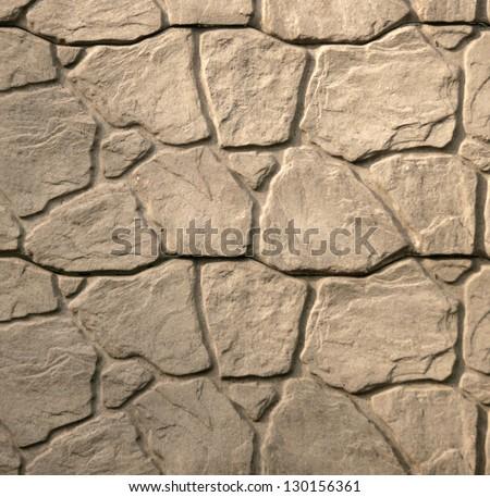 Nature background of decorative gray granite stone wall texture